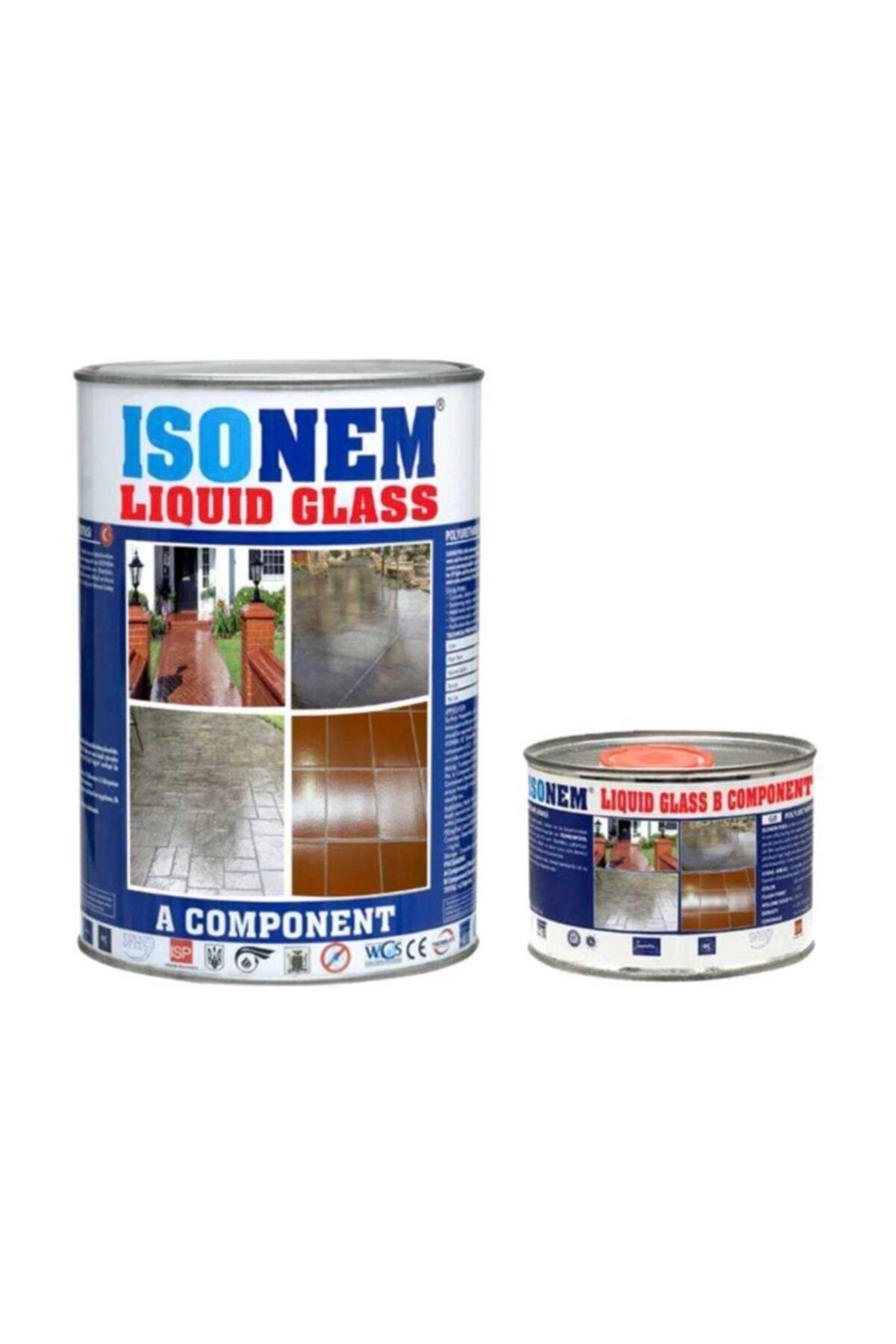 Isonem Liquid Glass Sıvı Cam 4 Kg Set 1