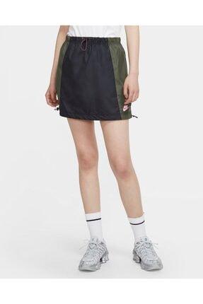 Nike Kadın Siyah Nsw Icon Clash Woven Skirt Spor Etek Cu5985-010
