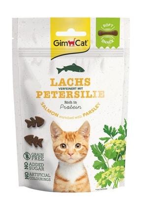 Gimcat Soft Snacks Salmon & Parsley Tahılsız Kedi Ödülü 60 Gr
