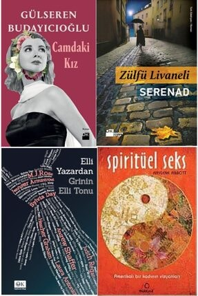 Optimum Kitap Camdaki Kız -gülseren Budayıcıoğlu, Serenad - Livaneli, Elli Yazar Grinin Elli Tonu -spirütüel Seks