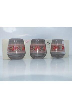 LAV Meşrubat Bardağı Laura 3'lü