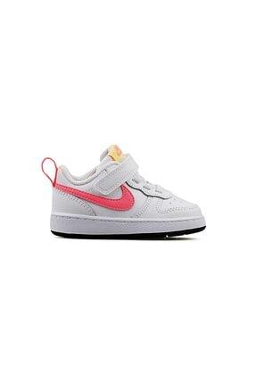 Nike Kız Bebek Beyaz Court Borough Low 2 Bq5453--108