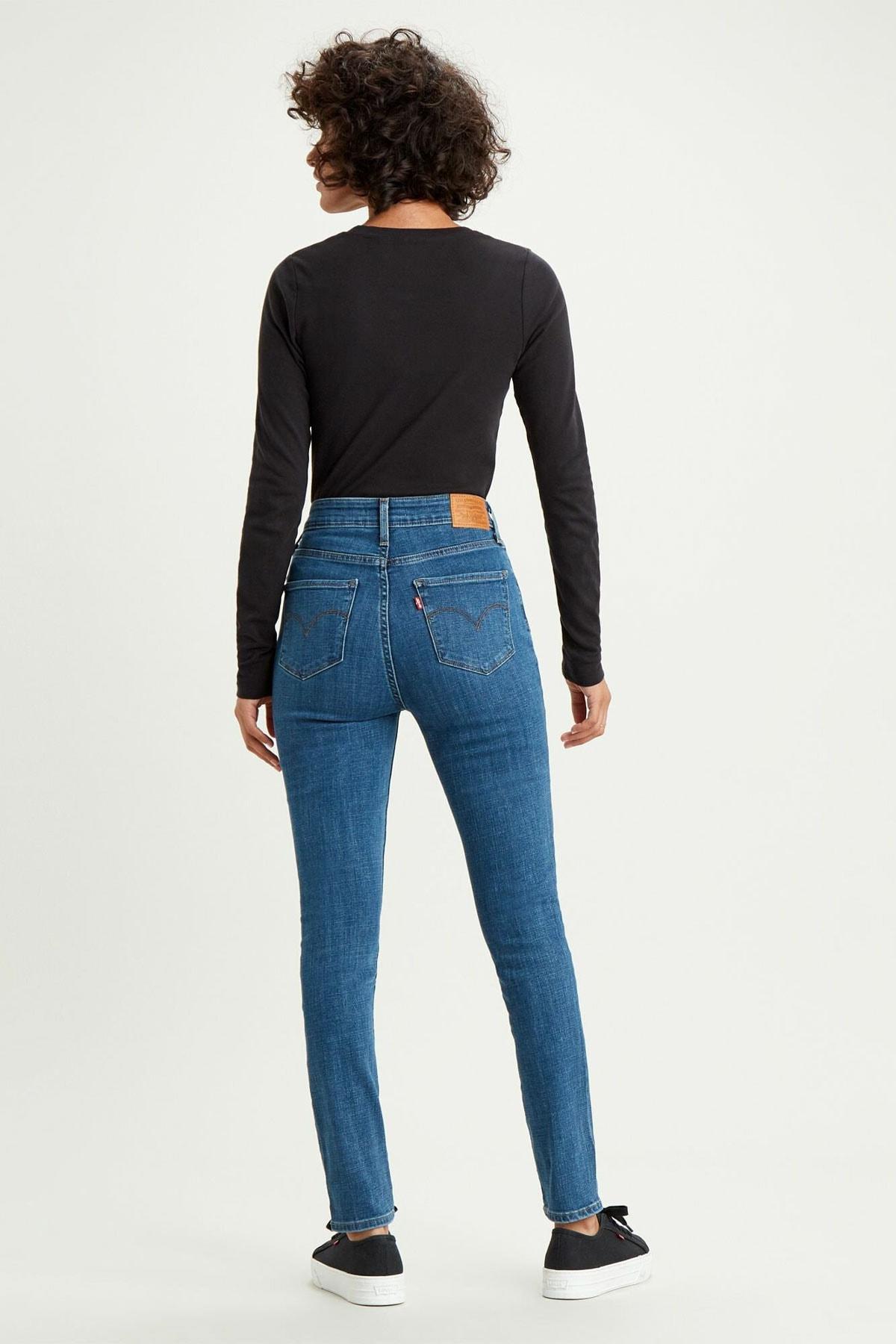 Levi's Kadın Mavi 721 Yüksek Bel Skinny Jean 18882-0388 2
