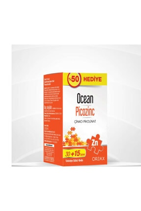Ocean Picozinc 30+15 Tablet