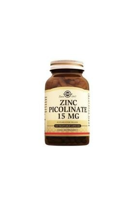 Solgar Zinc Picolinate 15 Mg 100 Kapsül