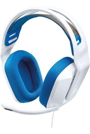 logitech G335 Kablolu Beyaz Oyuncu Kulaklığı