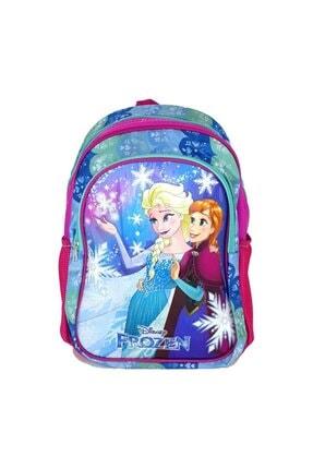 Frozen Lisanslı 2 Ana Bölmeli Kız Çocuk Ilkokul Çantası
