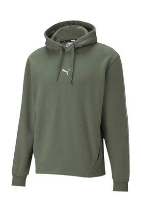 Puma Metallic Nights Erkek Kapüşonlu Sweatshirt