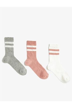 Koton 3'lü Kadin Çorap Set