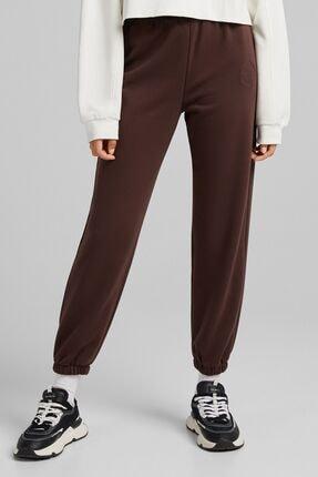 Bershka Koton Jogging Fit Pantolon