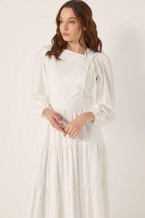 Tuğba Kadın Beyaz Elbise