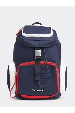 Tommy Hilfiger Tommy Hılfıger Th Nylon Backpack Aw0aw07695