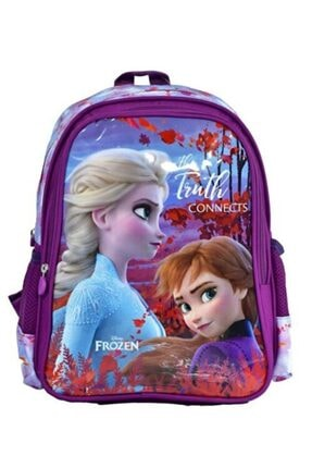 Frozen Elsa Kız Çocuk Ilkokul Sırt Çantası