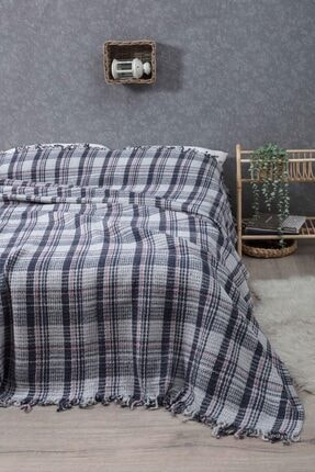 sarra Home Çift Kişilik Battaniye-indigo