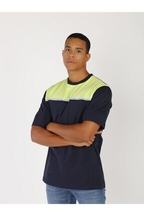 Moschino Erkek Lacivert T-Shirt