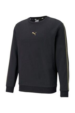 Puma Metallic Nights Bisiklet Yaka Erkek Sweatshirt