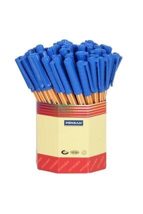 Pensan Tükenmez Kalem 10 Lu Mavi