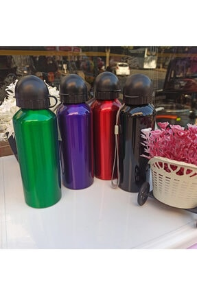 Phigo Çelik Renkli Termos Matara Suluk Alüminyum Içi 500 Ml Karışık Renk