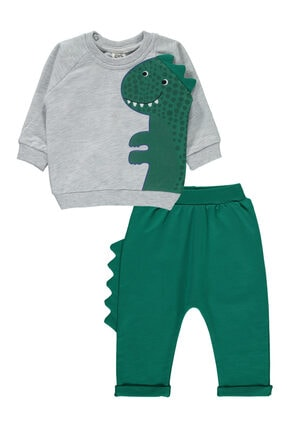 Civil Baby Erkek Bebek Takım 6-18 Ay Yeşil