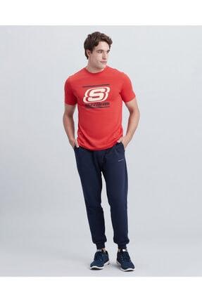 SKECHERS Erkek Kırmızı T-shirt