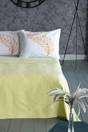 Doqu Home Suntime Tek Kişilik Pike Sarı