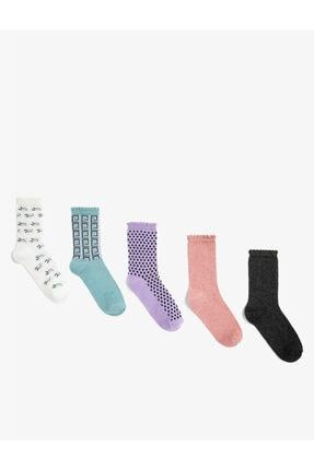 Koton 4'lü Kadin Çorap
