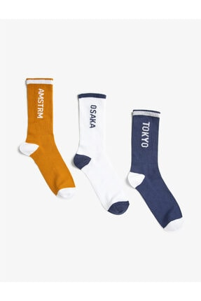 Koton Fitilli Soket Çorap Seti 3'lü