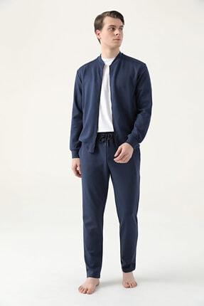 D'S Damat Erkek Regular Fit Lacivert Pijama Takımı