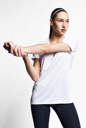 Lescon Kadın Beyaz T-shirt 21s-2208-21b