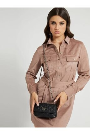 Guess Cessıly Siyah Kadın Çapraz Çanta
