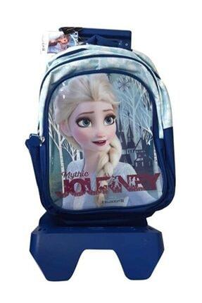 Frozen Frocx Lisanslı Kız Çocuk Çekçekli Ilkokul Çantası Check Mythıc Jour