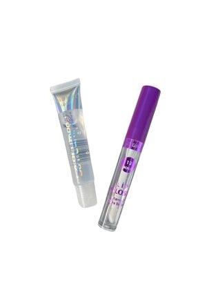 buenas store Lip Oil & Lip Gloss- Dudak Parlatıcı Ve Dudak Bakım Yağı Bakım Seti