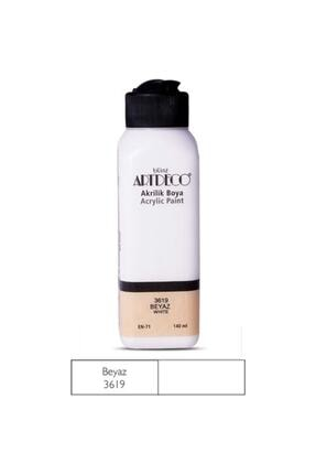Artdeco 140ml Beyaz Akrilik Boya 3619