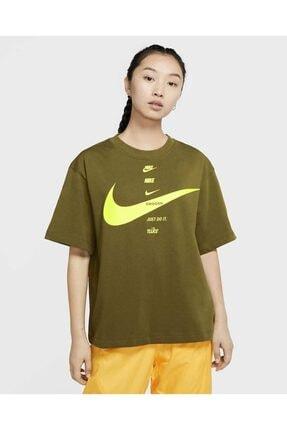 Nike Kısa Kollu Kadın Üstü Sportswear Cu5682-368