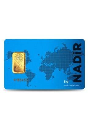 Nadir Gold 5 Gr 24 Ayar Külçe Altın