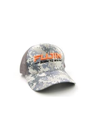 Fujin Grey Camo Şapka