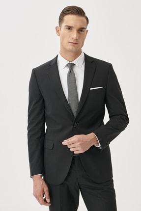 ALTINYILDIZ CLASSICS Erkek Siyah Slim Fit Takım Elbise