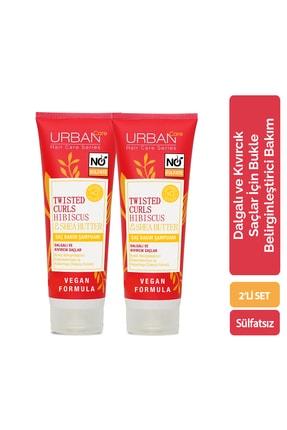 Urban Care Hibiscus &Shea Butter Saç Bakım Şampuanı x2'li Set
