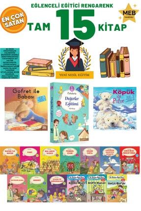 İş Bankası Kültür Yayınları 1. Sınıf Öğrencileri Için Rengarenk Tam 15 Kitap