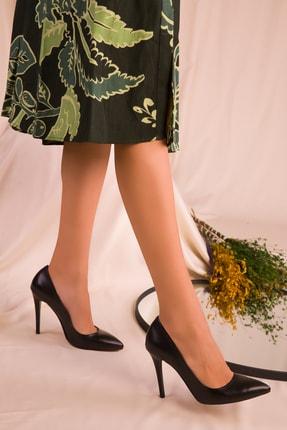 SOHO Kadın Siyah Klasik Topuklu Ayakkabı 16592