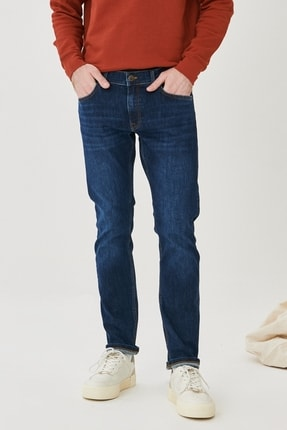 Lee Luke Slim Fit Düşük Bel Denim Esnek Jean Kot Pantolon