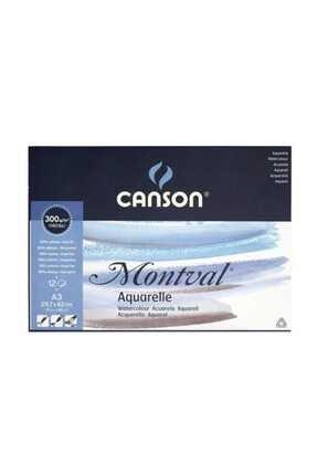 Canson Montval Suluboya Blok 300 Gr 12 Sayfa 29,7x42 Cm