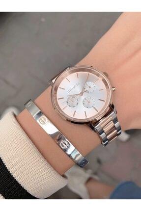 Homies Rose Gümüş Kadın Kol Saati