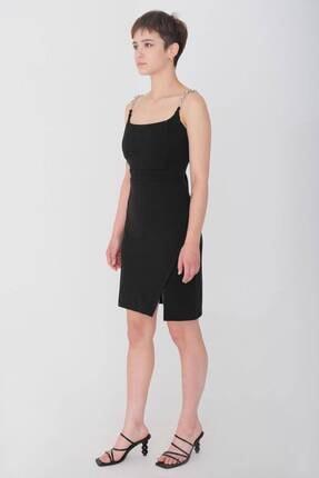 Addax Askı Detaylı Elbise E0667 - Dk8