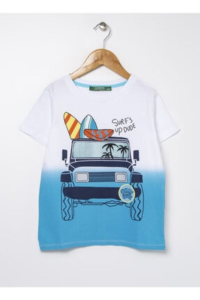 LİMON COMPANY Limon Kısa Kollu Baskılı Erkek Çocuk T-shirt