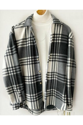 Hazhers Erkek Kışlık Yeni Sezon Polar Kumaş Oduncu Gömlek