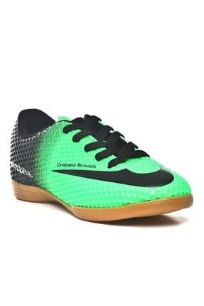 Walked Erkek Yeşil Futsal Hentbol Voleybol Salon Ayakkabı Y709