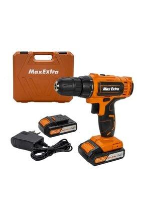 Max Extra Max-extra 1455 Şarjlı Maktap 14 Volt Çift Akülü Li-on Pilli Çantalı