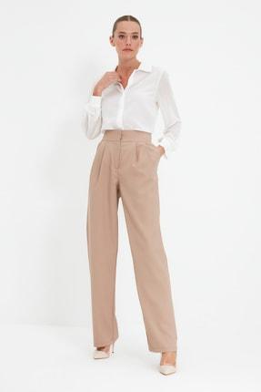 TRENDYOLMİLLA Vizon Wide Leg Pantolon TWOSS19WX0017