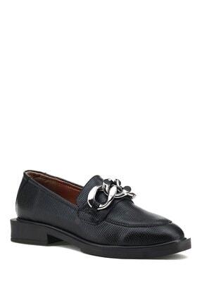 İnci Gıa.z 1pr Siyah Kadın Loafer Ayakkabı